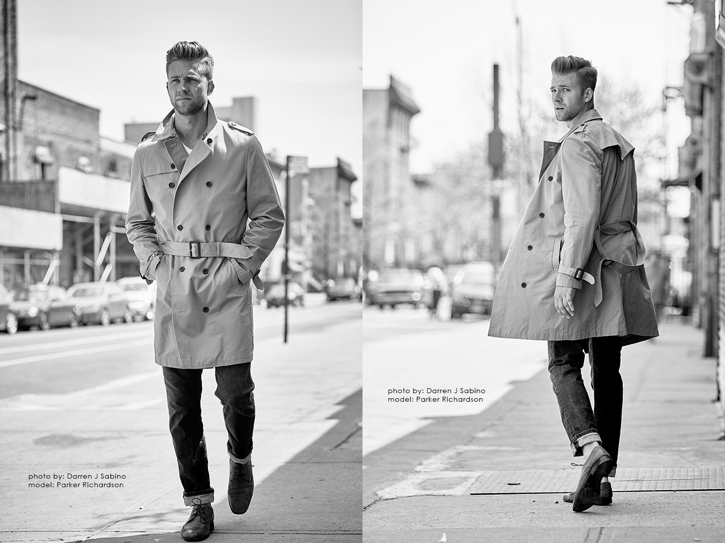NYC Portrait & Fashion Photoshoot - Parker Richardson